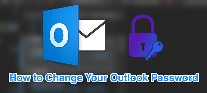 Outlook password