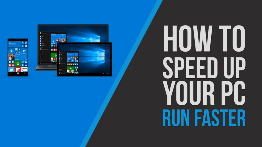 speed up Windows 10